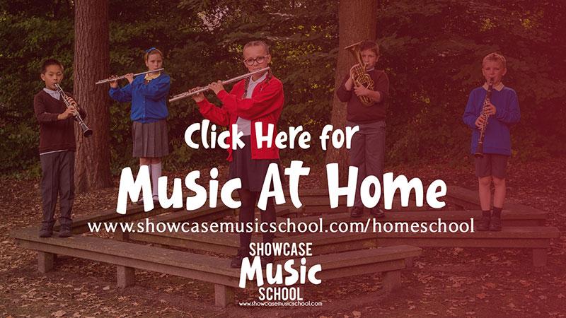 Showcase Music homeschooling